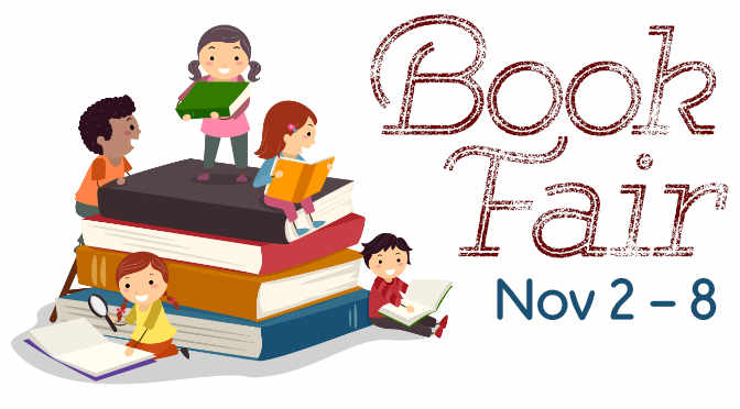 Nixon Book Fair 2018: Fri, Nov 2nd – Thurs, Nov 8th